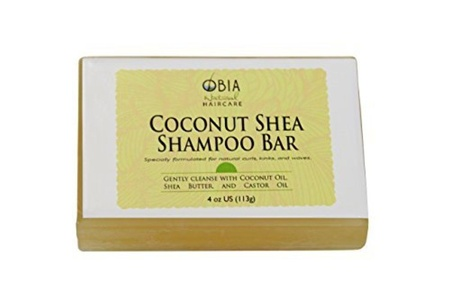 Shampoo Bar - Coconut & Shea Butter Cleanse For All Hair Types by OBIA Natural Hair Care