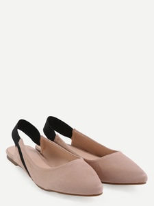 Slingback Pointed Toe Flats