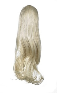 Love Hair Extensions India Drawstring Synthetic Hair Ponytail Colour 18 Ash Blonde 16 -Inch by Love Hair Extensions
