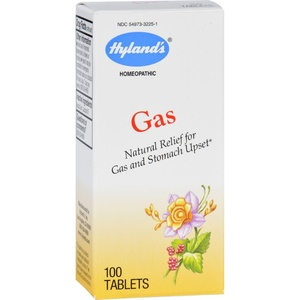 2Pack! Hylands Homeopathic Gas - 100 Tablets