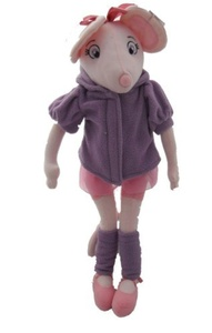 Angelina Ballerina Purple & Pink Soft Plush Toy 40cm (16) by Angelina Ballerina
