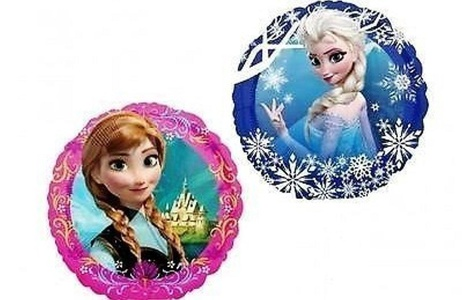 Disney Frozen Party Supplies Double Sided Sisters Anna And Elsa Mini Foil Balloon (Pack Of 3) by Disney Frozen Party Supplies