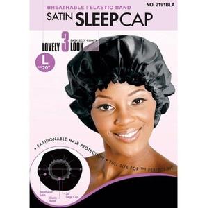 Satin Sleep Cap L Size 20'' by Magic