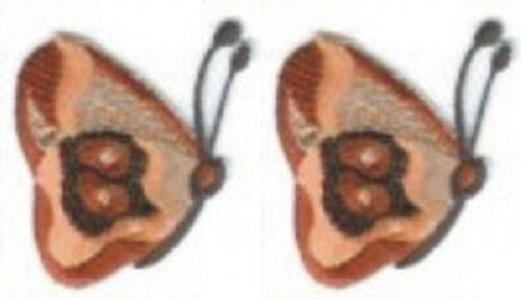 Applique Patches Logo Patterns Animal, Lot of 2Pcs Cute 1.75