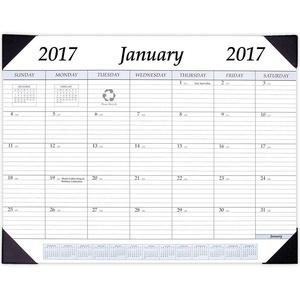 2017 Monthly Desk Calendar