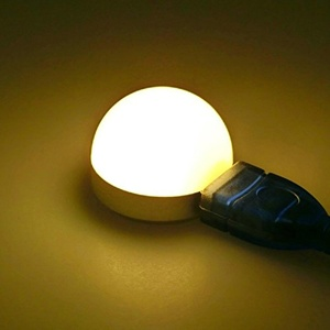 Lights Bulbs, Mini USB LED Bulb Portable LED Reading Lamp DC5V 2W USB LED Light.