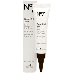 Boots No7 Beautiful Skin Rich Hydrating Eye Cream .5 oz. by Boots