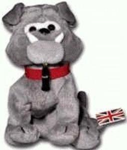Coca-Cola International Collection Bean Bag Dover the Bulldog - England Item #0213 by Coca-Cola