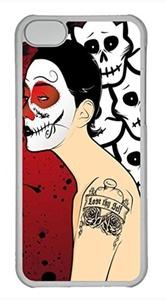 iPhone 5c case, Cute Macabre Madness iPhone 5c Cover, iPhone 5c Cases, Hard Clear iPhone 5c Covers