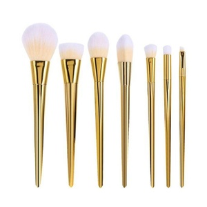 DEESEE(TM) Makeup Brush 7Pcs Set Professional Brush High Brushes set Make Up Blush Brushes Makeup Brush (Gold)