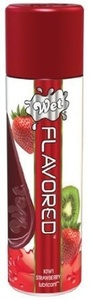 (2-pack) - Wet Flavored Water Based Gel Lubricant, Kiwi Strawberry, 3.5 Ounce by Wet Lubricant