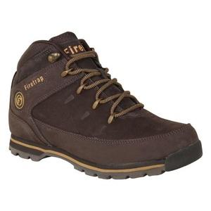 Mens Firetrap Rhino Boots Shoes Brown Brown (UK 7.5 / US 8)