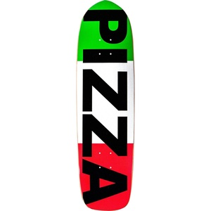 Pizza Flag Deck -8.6 Assembled as COMPLETE Skateboard