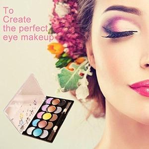15 Colors Makeup Cosmetic Eye Shadow Shimmer Matte Eyeshadow Palette Set Kit