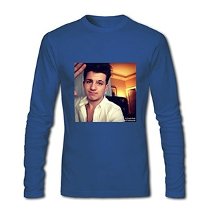Charlie Puth For 2016 Mens Printed Long Sleeve tops t shirts