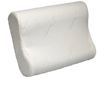 Cervical Contour Pillow - Memory Foam Chiropractic Vented Cooling Pillow -Chiropractor Recommended Orthopedic Hypoallergenic Pillows for Back and Side Sleepers by Panama Jack