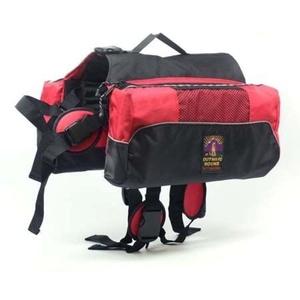 Kyjen Outward Hound Dog Backpack Saddlebag RED (XL)