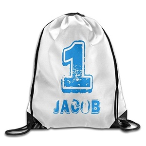 Graphic Printed Bags 1st Birthday For One Year Old Drawstring Beam Port Backpack