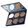 Pressed Powder Palette - MAYCHEER Professional 6 Color Pressed Powder Palette Nude Makeup Contour Cosmetic 3#