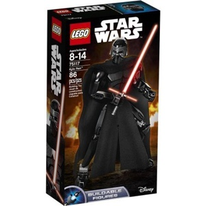LEGO Constraction Star Wars 75117 Kylo Ren, Buildable and Highly Posable