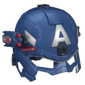Captain America Marvel Super Soldier Gear Battle Helmet by Captain america