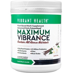 Vibrant Health Maximum Vibrance, 24.81 oz (703.5 g) 4.7 x 4.7 x 6.5 inches by Vibrant Health
