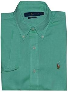 Polo Ralph Lauren Men's Short-Sleeved Chambray Oxford Shirt