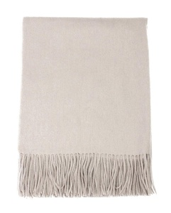 J-SUN-7 Womens Solid Color Wool Pashmina Scarf Lambswool Shawl(Pearl Gray, 2778(inch))