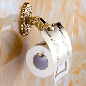Bathroom accessories/Stainless steel racks/[Towel rack]/ Golden Towel rack/European-style bathroom accessories set-D
