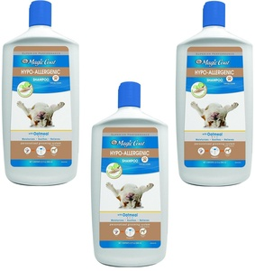 (3 Pack) Four Paws Magic Coat Hypo-Allergenic Dog Shampoo, 32 oz Each