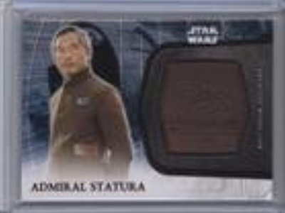 Admiral Statura (Trading Card) 2016 Topps Star Wars: The Force Awakens Series 2 - Medallions - Bronze #34