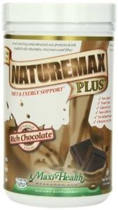 Maxi Health, Maxi Naturmax Plus, Chocolate, 1 Pound Tub by Maxi Health Research