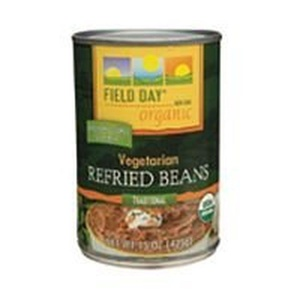 Field Day Beans, Og, Vegetarian Refrd, 15-Ounce (Pack of 12) by Field Day