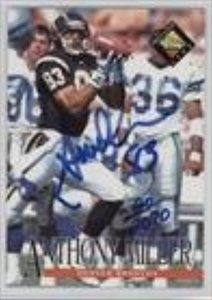 Anthony Miller #20/2,070 (Football Card) 1994 Classic Pro Line Live - Autographs #ANMI