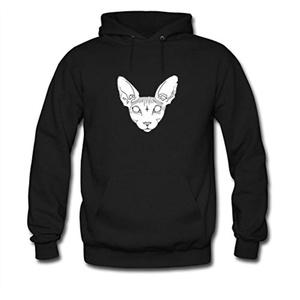 Sphynx Cat For women Printed Sweatshirt Pullover Hoody