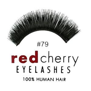 Red Cherry #79 False Eyelashes, Black by RED CHERRY