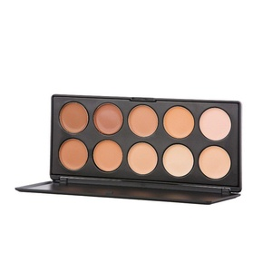 PhantomSky 10 Colors Concealer Cream Camouflage Makeup Palette Contouring Kit - Perfect for Professional and Daily Use