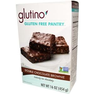 Gluten-Free Pantry, Double Chocolate Brownie, 16 oz (454 g) Gluten-Free Pantry, Double Chocolate Brownie, 16 oz (454 g)
