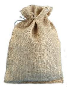 10 X 14 Burlap Bags with Drawstring - Lot of 40 by Premium Bags
