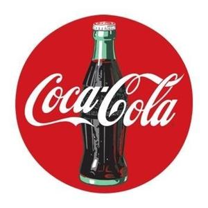 Coca Cola Disk Sign