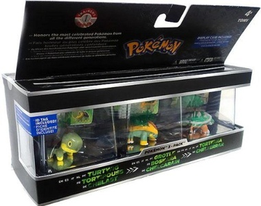 Pokemon Trainer's Choice 2 Mini Figure 3-Pack: Turtwig, Grotle and Torterra (T18488) by Pokemon Trainer's Choice