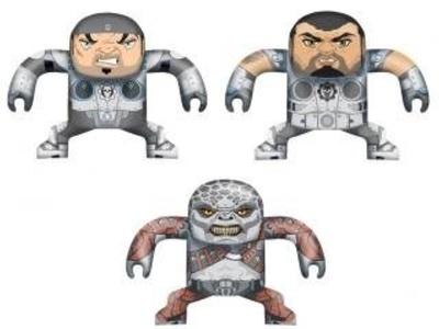 NECA Gears of War 4.5 inch Batsu Dominic Santiago by Gears of War