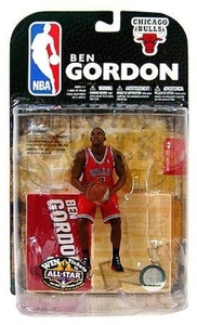 BEN GORDON / CHICAGO BULLS Red Jersey Variant McFarlane NBA Series 15 Sports Picks Action Figure by McFarlane's Sportspicks