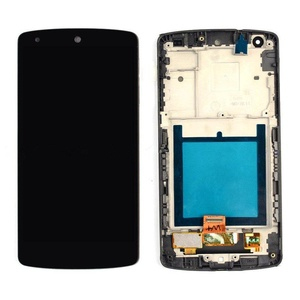 OEM Black LG Google Nexus 5 D820 D821 Touch Lcd Display Assembly &Frame New