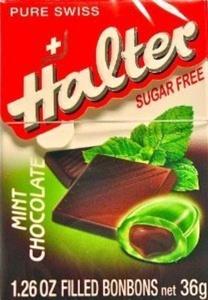 HALTER BONBONS CHOC MINT 36G by Halter Bonbons