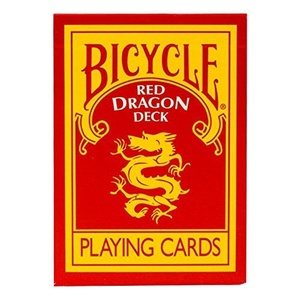 Red Dragon Deck - Bicycle Cards by Bicycle