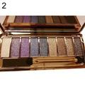 9 Colors Shimmer Eyeshadow Eye Shadow Palette & Makeup Cosmetic Brush Set