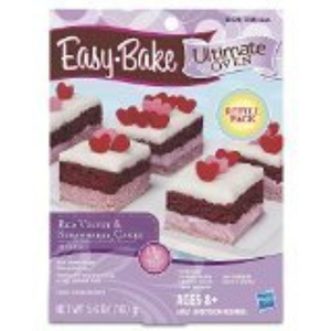 Easy-Bake Ultimate Oven Red Velvet and Strawberry Cakes Refill Pack by Easy Bake