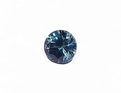 0.60ct Blue Montana Sapphire USA Rock Creek Natural Faceted Cut Untreated Healing Gemstone Crystal