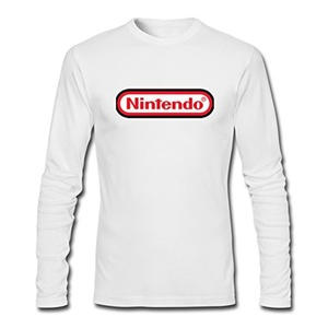 Nintendo Logo For Beer For 2016 Mens Printed Long Sleeve tops t shirts